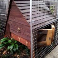 Chicken house and chicken yard – Hawthorn