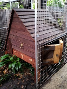 Chicken house coop recycled timber melbourne