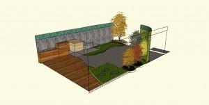freestanding + vertical garden,  designs for front gardens in melbourne,  vertical gardens melbourne,  permaculture small yard,  vertical gardens