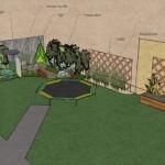 Kinder garden small backyard garden design melbourne